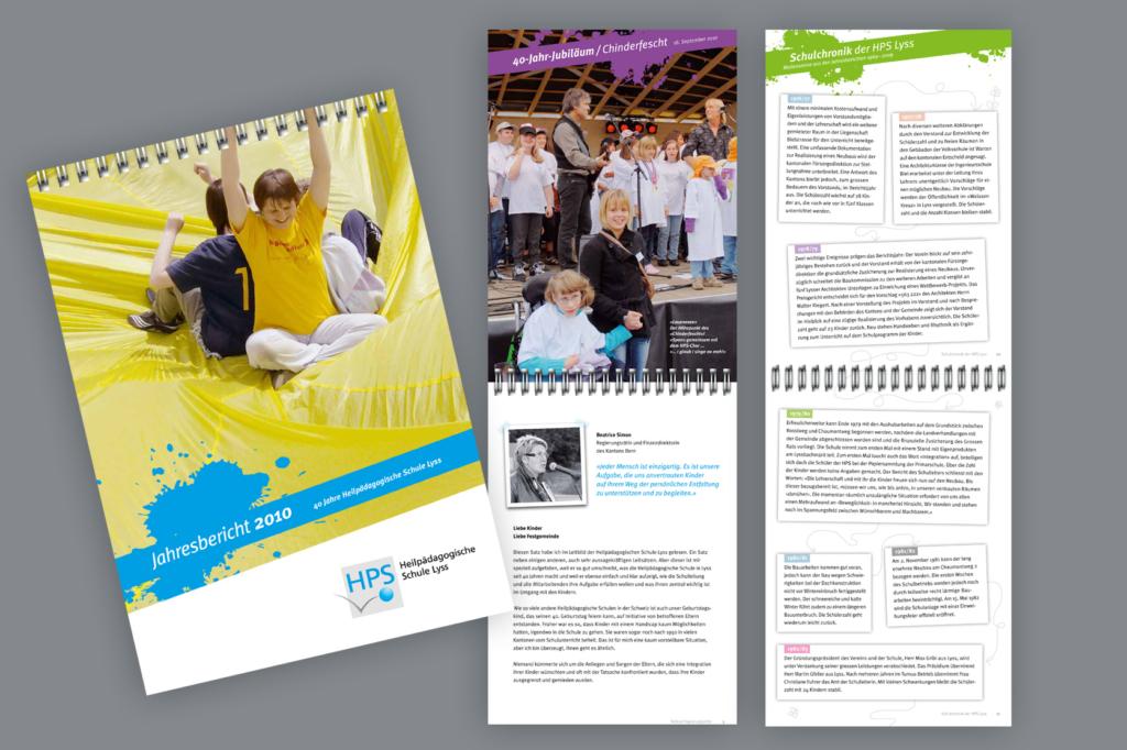 Jahresbericht Heilpädagogische Schule Lyss