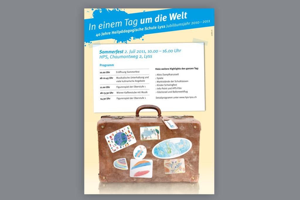 Einladung Heilpädagogische Schule Lyss