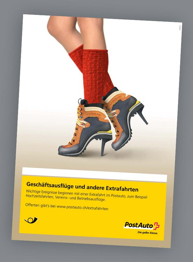 Plakat PostAuto