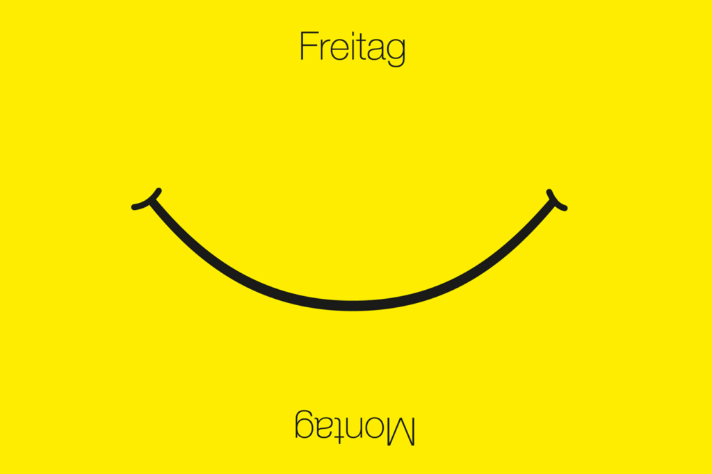 Postkarte Smile