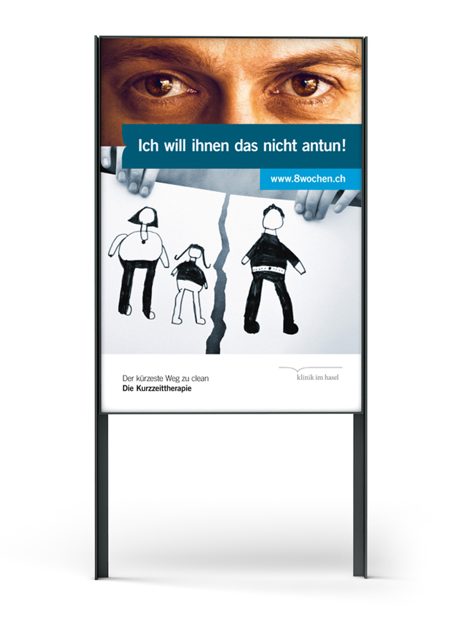 Klinik Im Hasel, Plakat F4