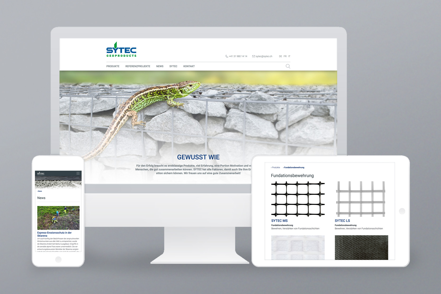 Website SYTEC AG