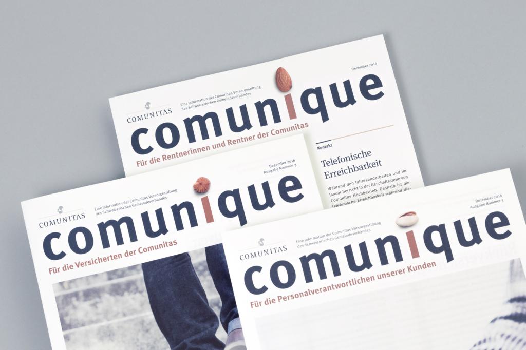 Comunitas-Newsletter für Versicherte und Personalverantwortliche