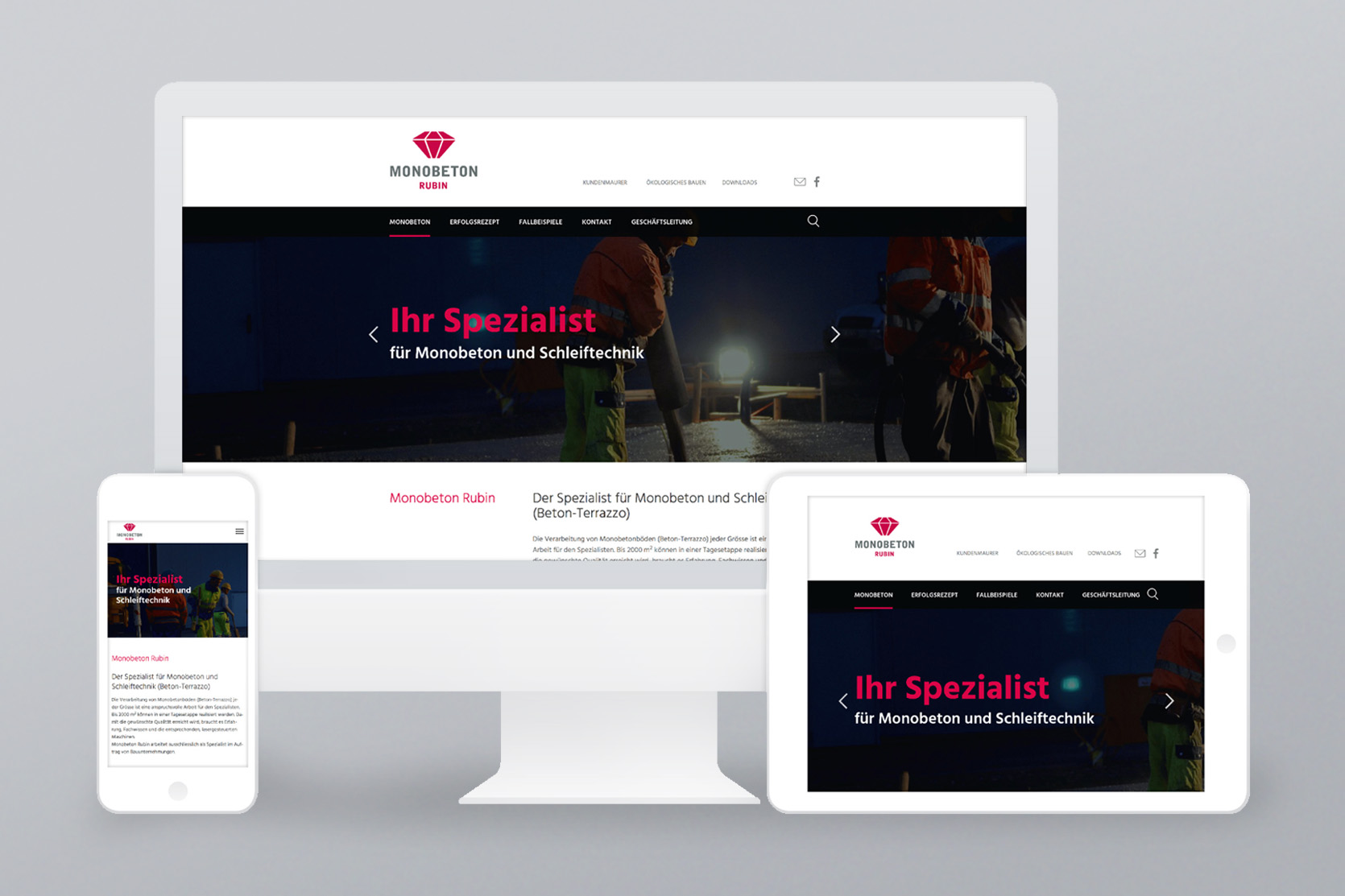Website Monobeton