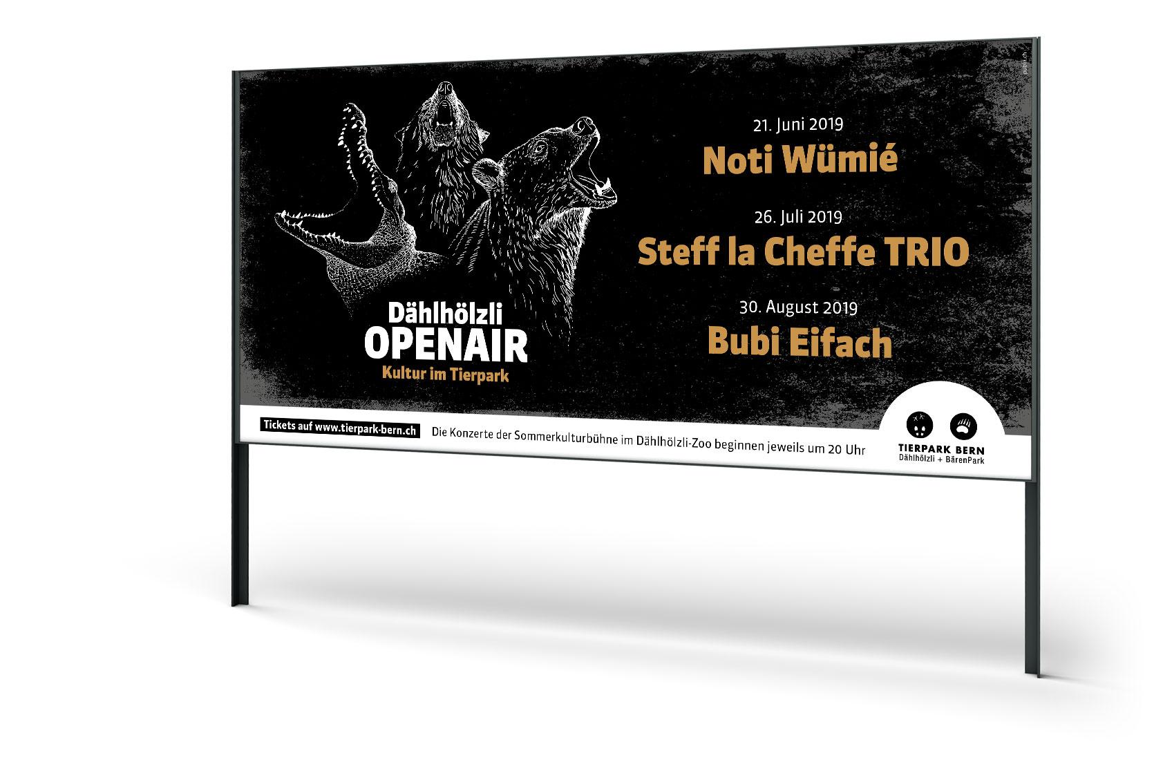 Dählhölzli Openair 2019 F12   Kultur im Tierpark, Tierpark Bern